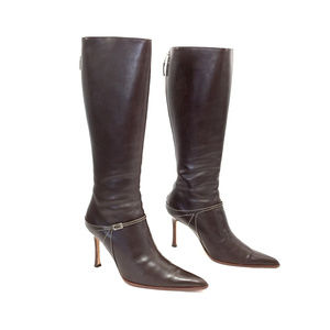 Lambertson Truex Leather Knee-High Boots for sale the cheapest footaction best prices cheap price qKQm3